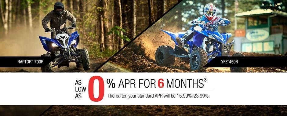 Yamaha - Current Offers - Sport ATV